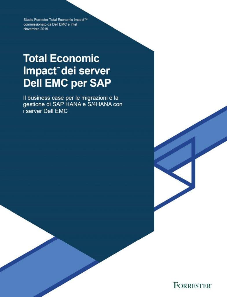 , , Total Economic Impact™ dei server Dell EMC per SAP