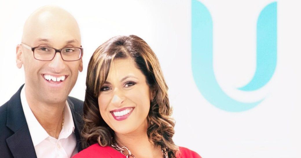 Susan Kabani and Fahim Kabani - founders of ugenie