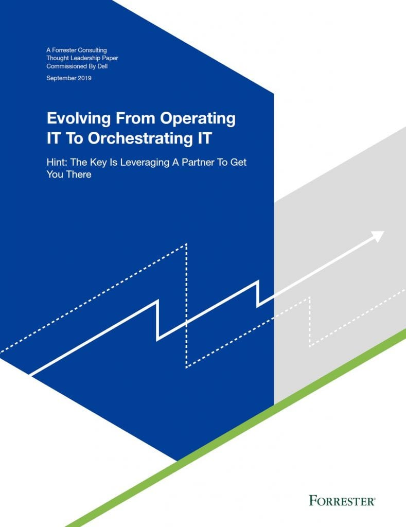 , , Evolving From Operating IT to Orchestrating IT