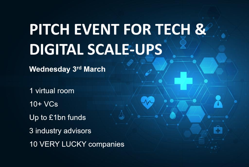 , , Healthtech Pitch Event