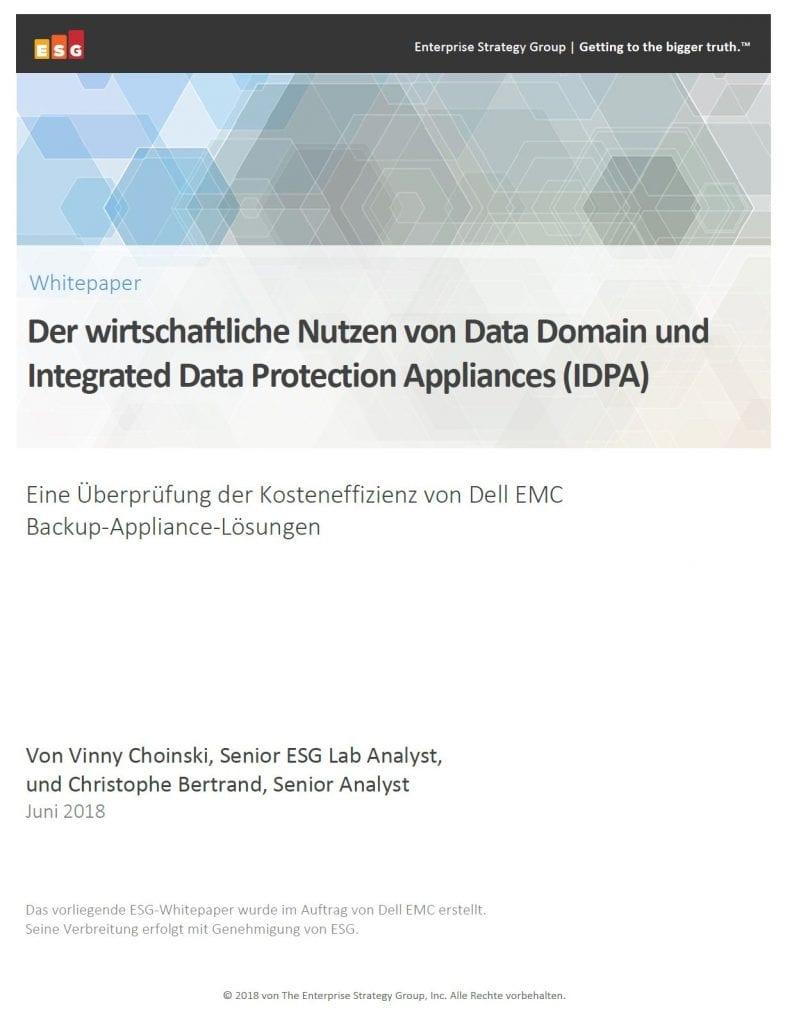 FY22Storage, , Analyse wirtschaftlicher und betrieblicher Vorteile des Data-Protection-Portfolios von Dell EMC PowerProtect