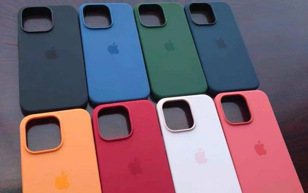 Leaked iPhone 13 colours